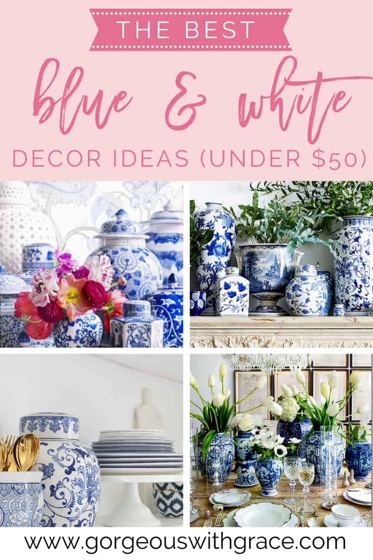 best blue and white decor ideas