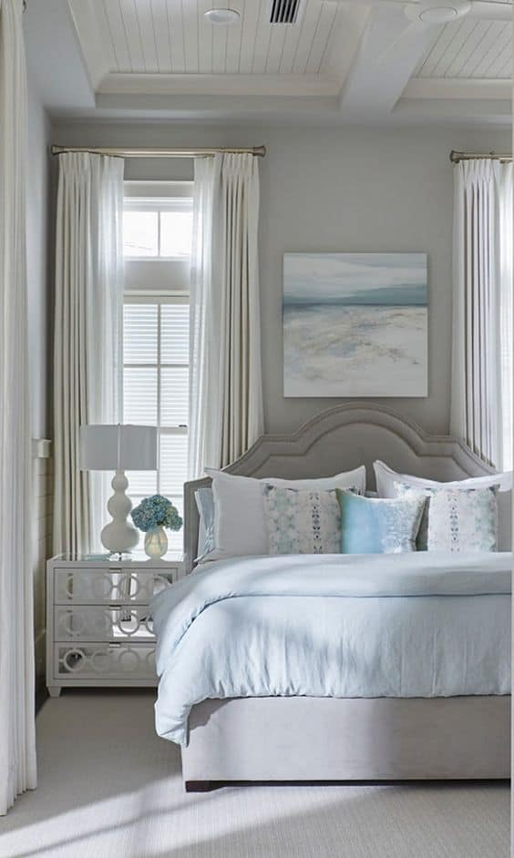 French Country Bedrooms Green