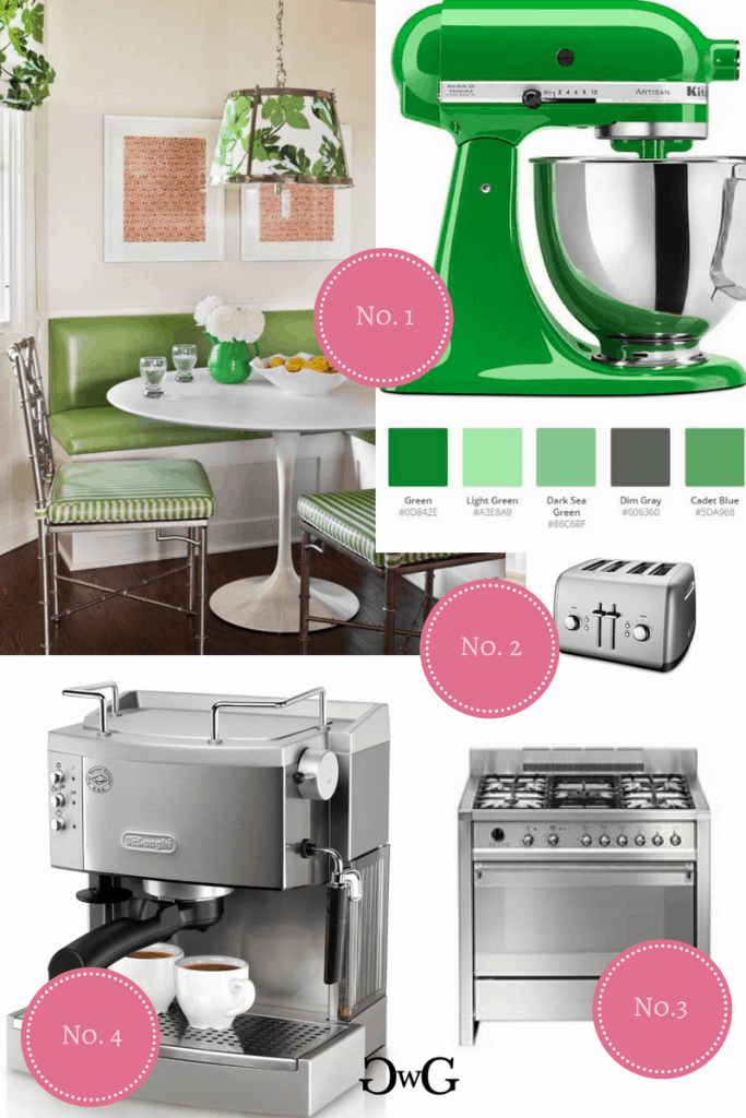 Green Kitchenaid Colorscheme #kitchenaidcolorscheme