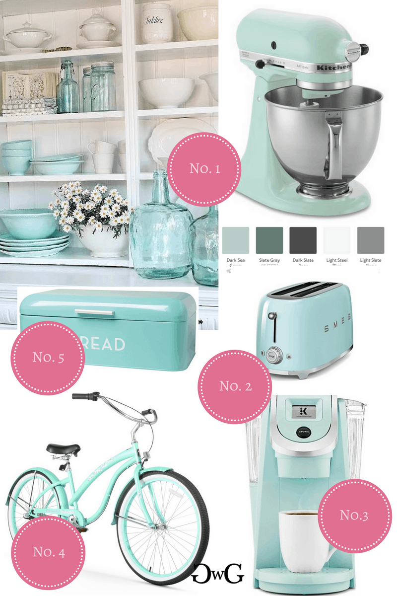 Top KitchenAid Stand Mixer Color Combinations - Gorgeous with Grace