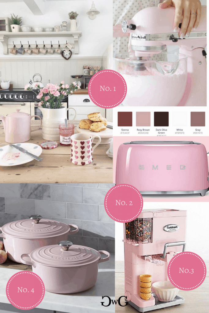 Pink Kitchenaid Colorscheme #kitchenaidcolorscheme