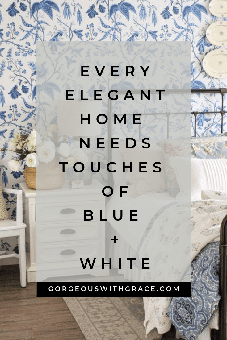 Stunning Blue and White Home Decor Ideas