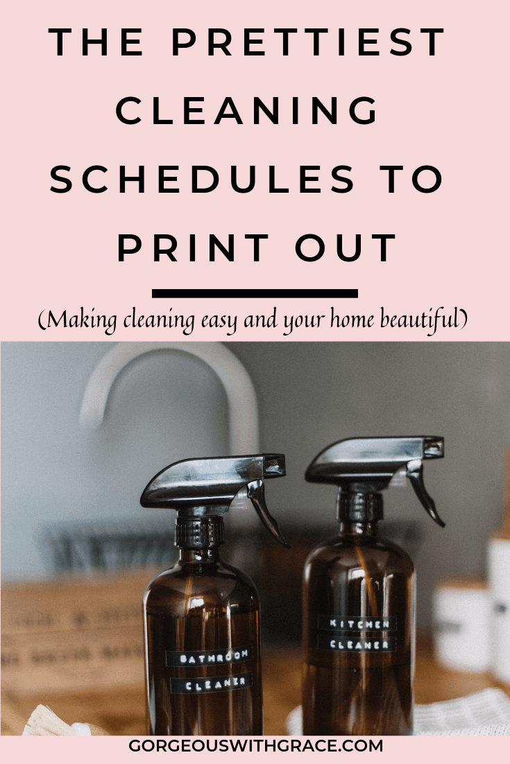 Weekly Housecleaning Schedule #weeklyhousecleaningschedule