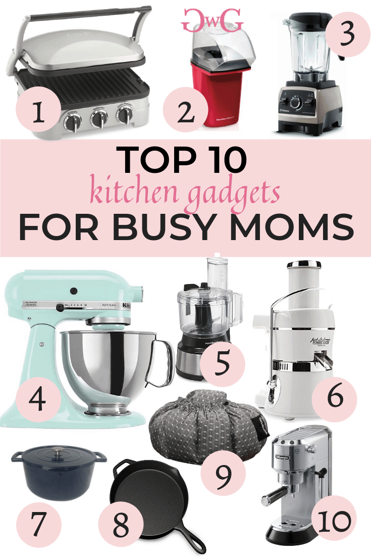 Top 10 Kitchen Gadgets for busy moms