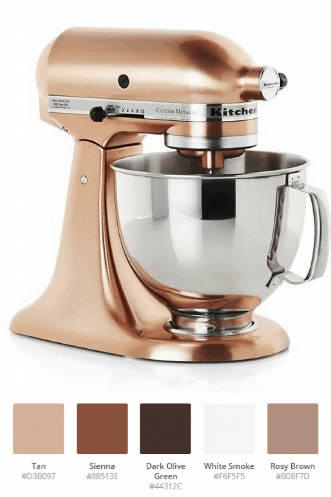 Copper Kitchenaid Colorscheme #kitchenaidcolorscheme