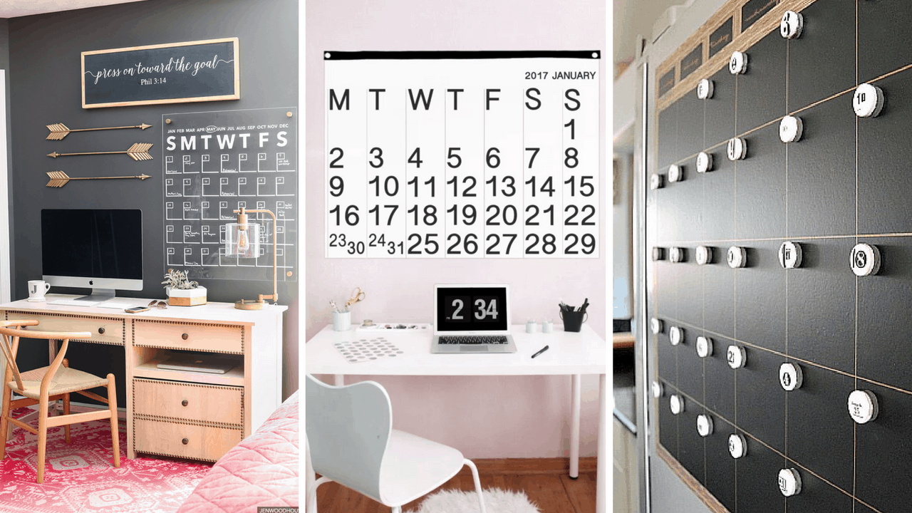 Diy Giant Calendar : Brilliant diy giant wall calendars