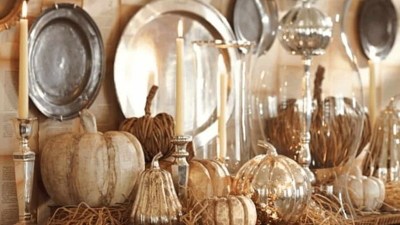 Decorating with neutral colors for fall #neutralfalldecor