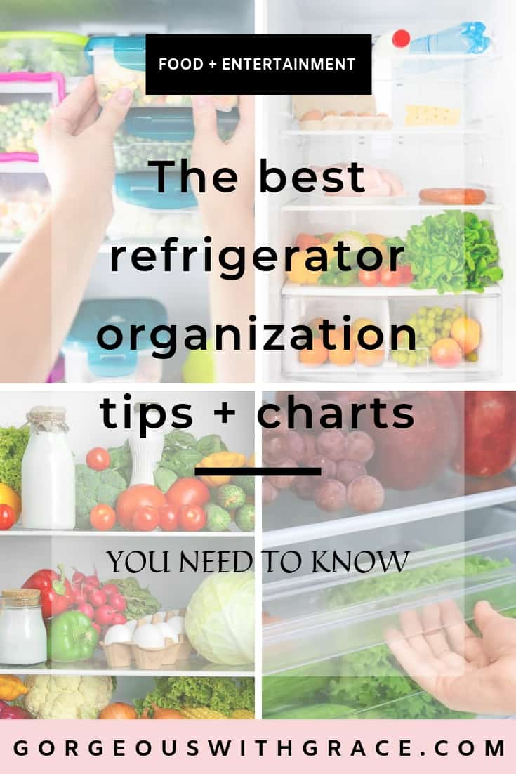 Best Refrigerator Organization Tips and Charts