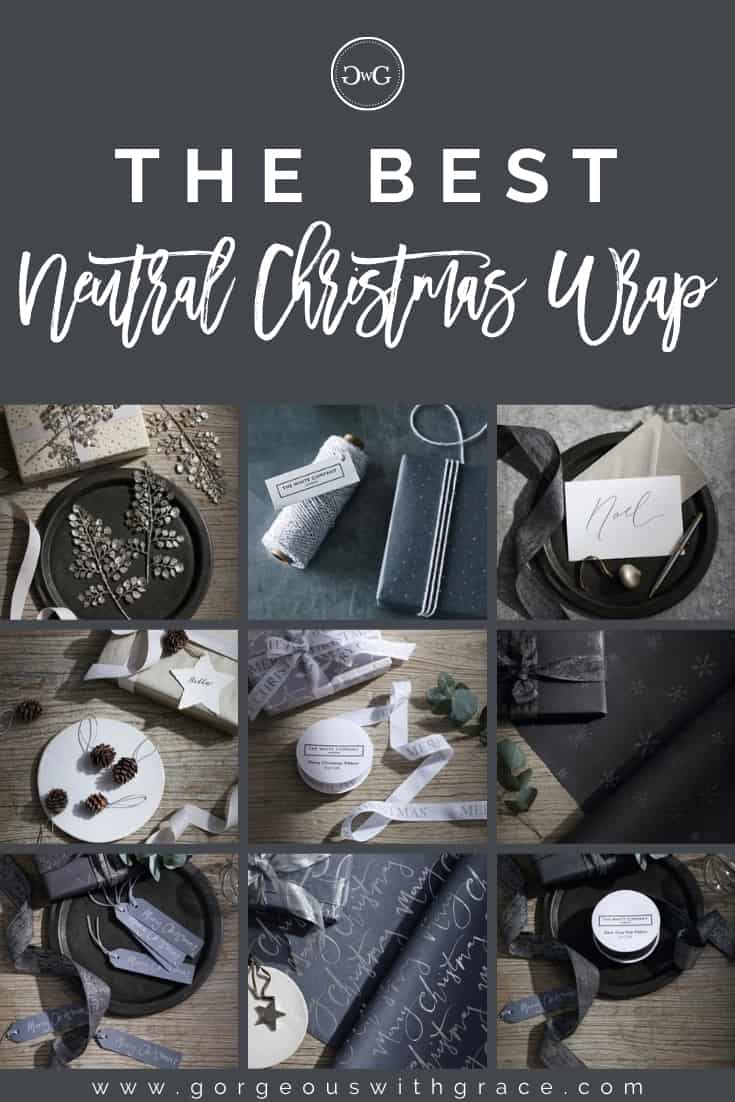 neutral gift wrap guide